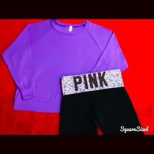Victoria's Secret PINK LEGGINGS & Matching Shirt